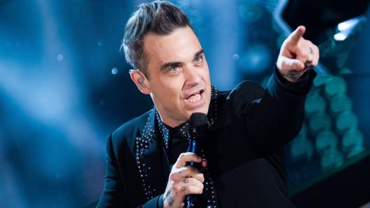 Bei der Eröffnungsfeier der WM 2018 wird Robbie Williams auftreten.