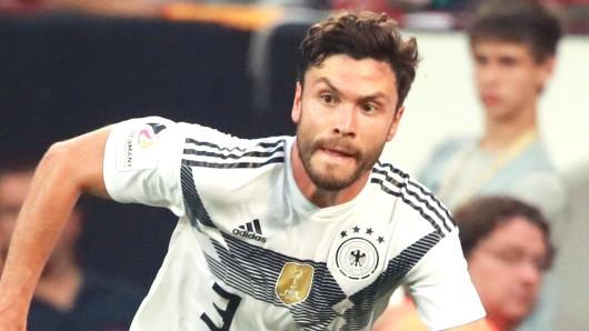 Jonas Hector fehlt wohl in der Aufstellung von Deutschland gegen Mexiko.