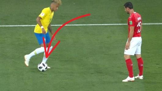 Neymar Brasilien Schweiz WM 2018