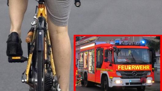 Rennradfahrer bremsten in Haltern die Freiwillige Feuerwehr auf dem Weg zu einem Einsatz aus.