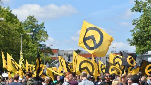 Identitäre haben eine Vorlesung an der Uni Greifswald gecrasht. (Archivbild)
