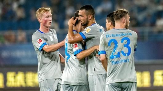 Der FC Schalke 04 und FC Southampton trennten sich 3:3.