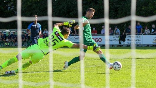 Tor für den VfL Bochum: Rückkehrer Tom Weilandt trifft zum 2:0.