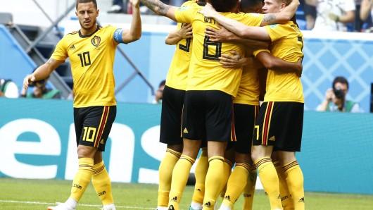 Belgien schlug England im Spiel um Platz 3 bei der WM 2018.