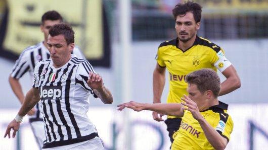 Mario Mandzukic von Juventus Turin zu Borussia Dortmund?
