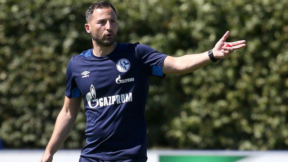 Schalkes Trainer Domenico Tedesco