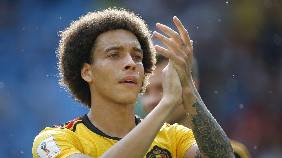 Eben noch bei der WM, bald vielleicht beim BVB: Axel Witsel.
