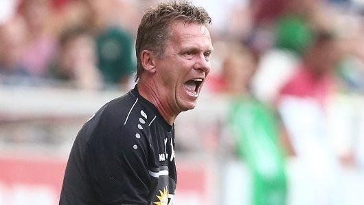 Unzufrieden: RWE-Trainer Karsten Neitzel.