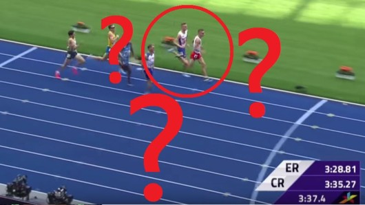 Bei der Leichtathletik-EM 2018 in Berlin kam es zu einer kuriosen Aufholjagd.