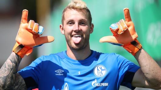 Beim FC Schalke 04 konnte Ralf Fährmann am freitag wieder voll mittrainieren.