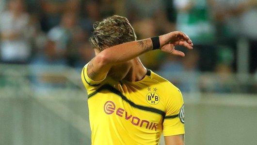 Maximilian Philipp ist aktuell einer von zwei Kandidaten für das BVB-Sturmzentrum - fühlt sich aber anderswo wohler.