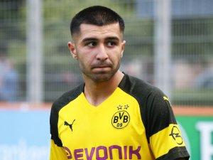 Emre Sabri Aydinel brachte die U19 von Borussia Dortmund in Brügge 1:0 Führung.