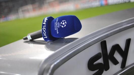 Online-Kunden waren bei der Champions-League-Übertragung des Bayernspiels bei Sky nicht zu jeder Zeit in Bilde