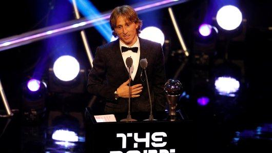 Weltfußballer des Jahres: Luka Modric.