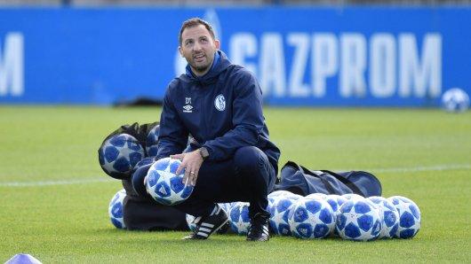 Beim FC Schalke 04 hat Domenico Tedesco drei Spieler im Training begrüßt, die zuletzt länger fehlten.