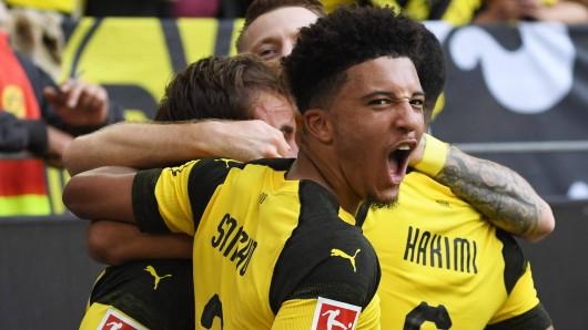 Bei Borussia Dortmund zeigte Jadon Sancho in dieser Saison bisher überragende Leistungen.
