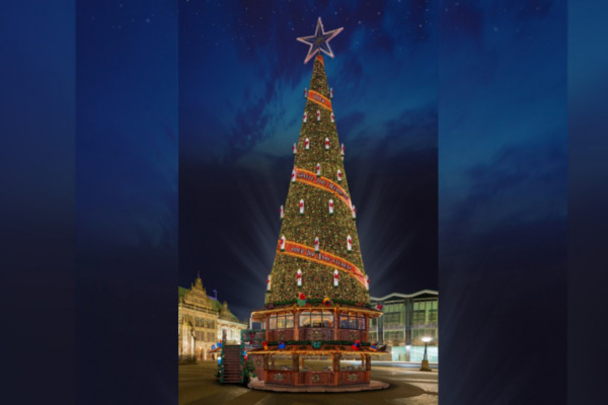 Weihnachtsbaum Aufbauen.Freitag Kommt Der Weltgrößte Weihnachtsbaum Nach Herne Diese