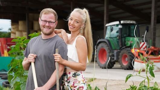 Bauer Matthias und seine Taya.
