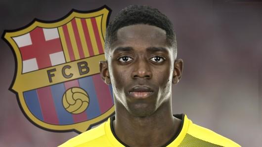 Ousmane Dembélé hat einen Anklage am Hals.
