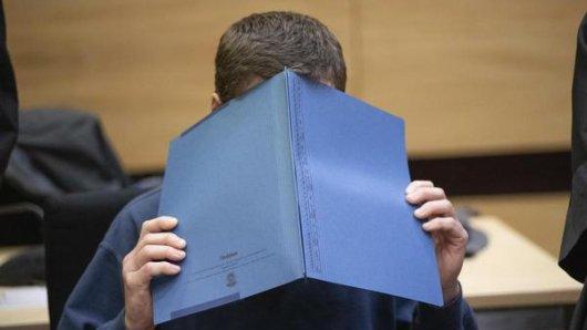 Der Täter Klaus O. im Gerichtssaal Bielefeld