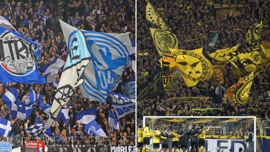 Auch die Fanszenen vom FC Schalke 04 und von Borussia Dortmund beteiligen sich an den Fanprotesten am 13. Spieltag.