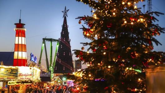 Der Cranger Weihnachtszauber zog am ersten Abend hunderte Besucher an.