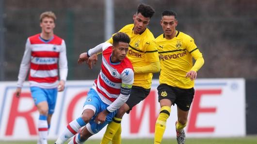 Borussia Dortmund bezwang Brügge in der UEFA Youth League.