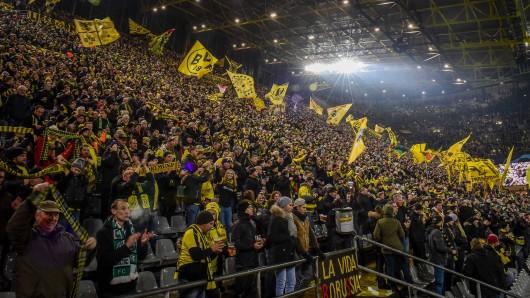 Die Fans von Borussia Dortmund werden am Samstag 45 Minuten lang schweigen.
