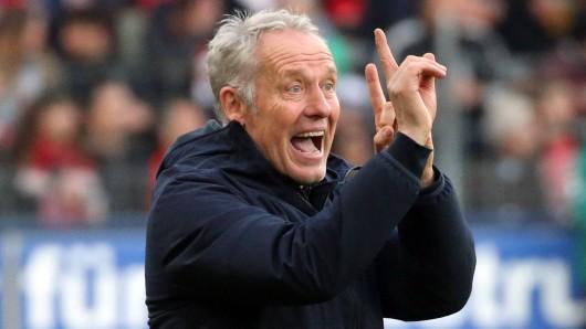 Vor dem Spiel bei Borussia Dortmund hat Christian Streich seinen Spielern eindringlich klargemacht, was für Freiburg drin ist.