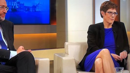 """Annegret Kramp-Karrenbauer war zu Gast bei """"Anne Will"""" in der ARD."""