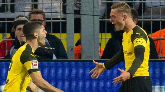 Christian Pulisic und Jacob Bruun Larsen: Der eine könnte den BVB bald verlassen, der andere könnte noch lange bleiben.