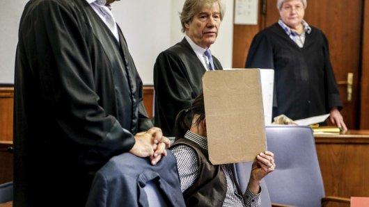 Der Angeklagte Ralf H.  im Landgericht Dortmund. Er  soll im Jahr 1993 in Dortmund eine 16-jährige Schülerin ermordet haben.