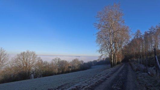 Am Abend überzieht Frost das Ruhrgebiet.