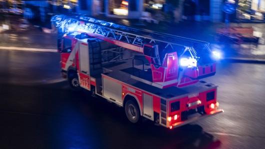 Feuerwehr-Einsatz. (Symbolfoto)