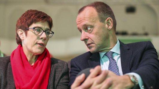 Anfang Dezember unterlag Friedrich Merz im Kampf um den CDU-Parteivorsitz gegen Annegret Kramp-Karrenbauer. Nun veröffentlicht sie, welches Amt in der Partei übernehmen wird.