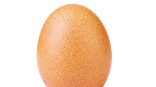 Diesen Ei hat bei Instagram die meisten Likes bekommen und damit TV-Reality-Star Kylie Jenner abgelöst.