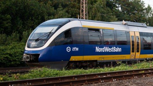 Ein Zug der Nordwestbahn.