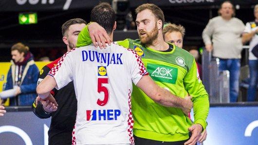 Andreas Wolff verteidigte nach dem Sieg von Deutschland gegen Kroatien bei der Handball WM 2019 seinen Teamkollegen vom THW Kiel, Dumagoj Duvnjak.