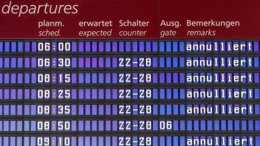 Für Donnerstag in der Zeit zwischen 3.00 und 11.00 Uhr ist ein Warnstreik am Düsseldorfer Flughafen angekündigt worden.