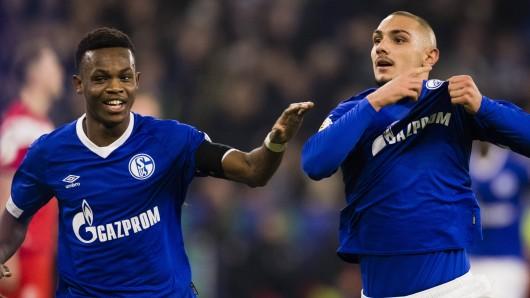 Schalke - Düsseldorf: Ahmed Kutucu brachte S04 in Führung.