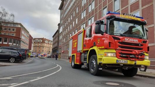 Die Feuerwehr Herne ist wegen eines verdächtigen Pulvers in der Freiligrathstraße im Einsatz.