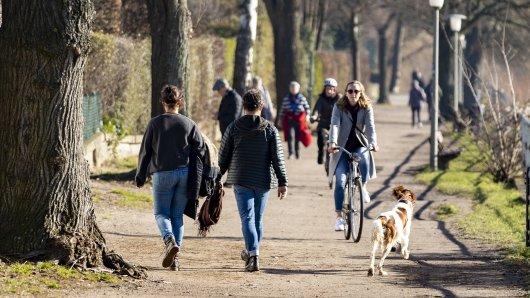 Wetter in NRW: Der Monat Februar überrascht mit Frühlingswärme. (Symbolfoto)