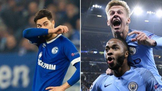 Schalke kassierte gegen Manchester City eine unglaublich bittere Niederlage.