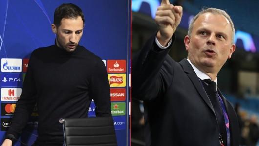 Jochen Schneider erklärt die Gründe für das Aus von Domenico Tedesco bei Schalke 04.