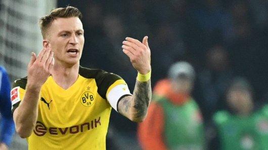 Kapitän Marco Reus machte die Profis von Borussia Dortmund heiß auf die Meisterschaft.