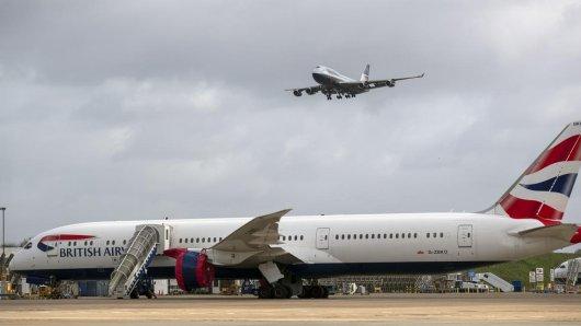Der British Airline-Flieger landete statt am Düsseldorfer Flughafen in Edinburgh. (Archivbild)