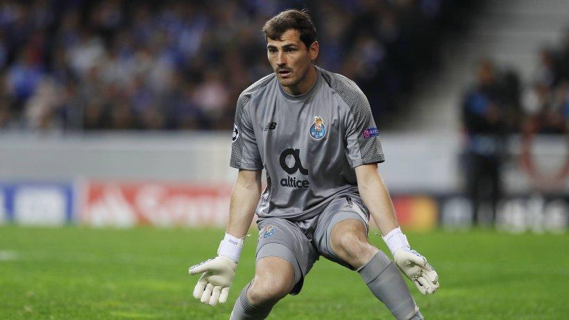 Casillas Herzinfarkt