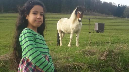 Die elfjährige Ruqayah lebt ohne ihre Eltern in Deutschland.