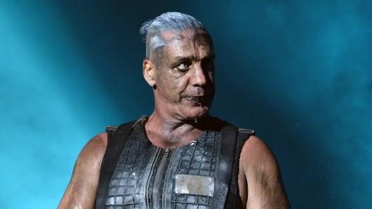Frontsänger von Rammstein: Till Lindemann.