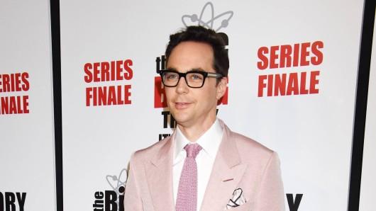 "Jim Parsons bei der Party zum Finale von ""The Big Bang Theory"" in Los Angeles."